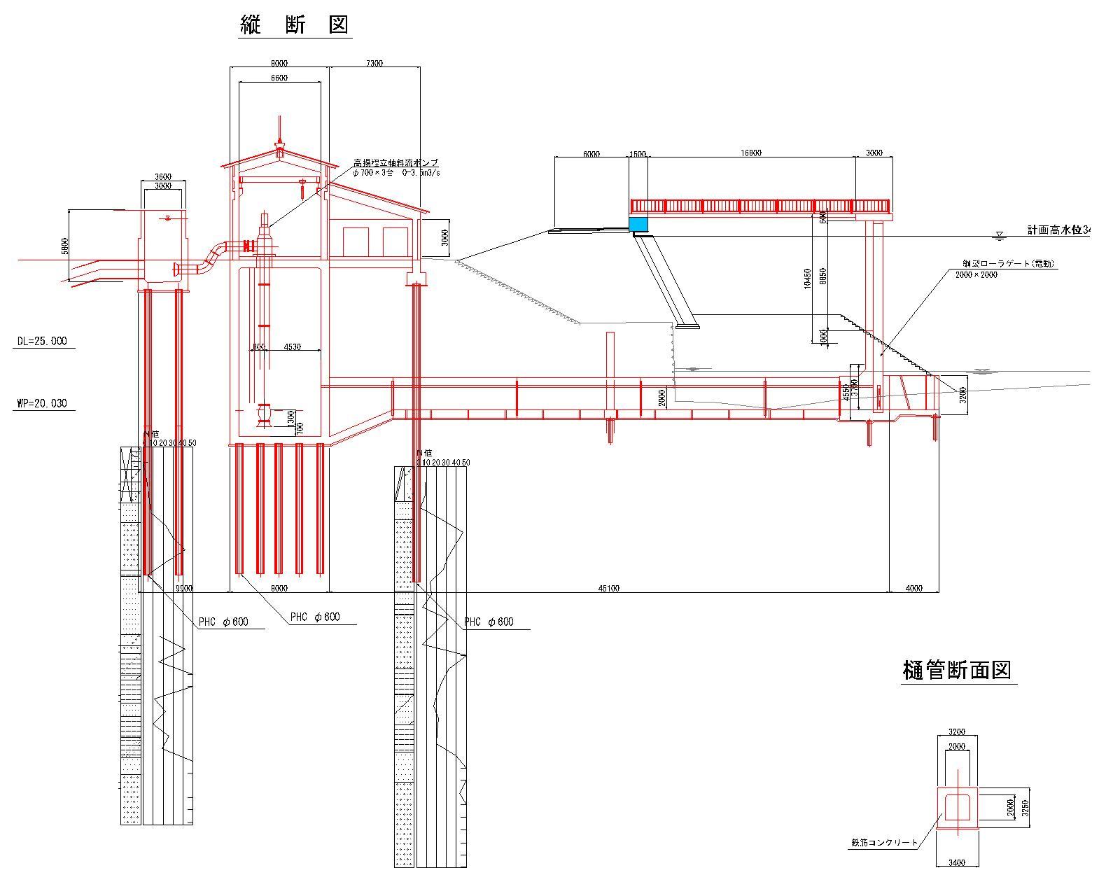 08_02_03_01_02船玉揚水機場 農林施工 赤-モデル